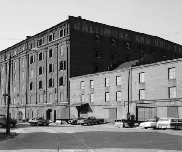 Baltimore & Ohio Railroad Tobacco Warehouse